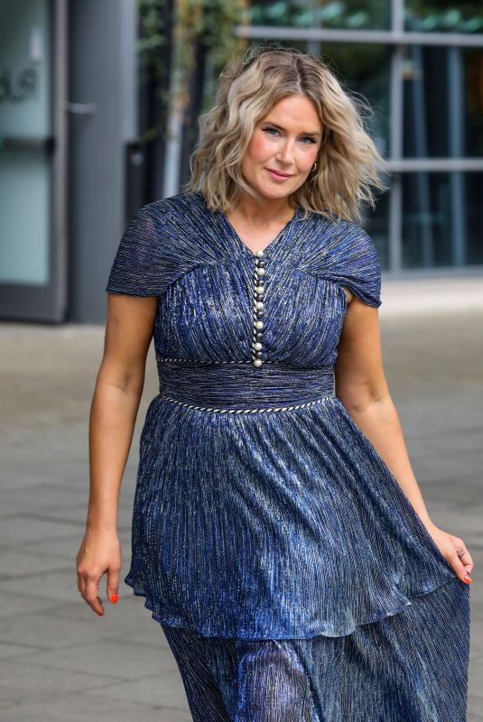 ANNA WHITEHOUSE Heading to National Television Awards in London 09/09/2021