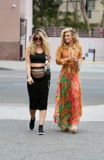 ANNALYNNE and RACHEL MCCORD Out in Beverly Hills 09/02/2021