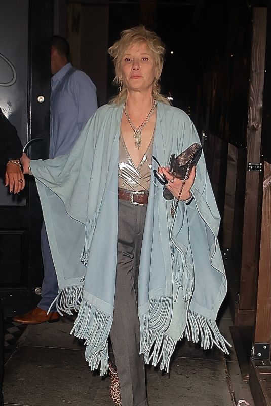 ANNE HECHE at Craig's in West Hollywood 09/21/2021