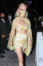 ANYA TAYLOR-JOY Leaves Sunset Tower Hotel in Los Angeles 09/19/2021