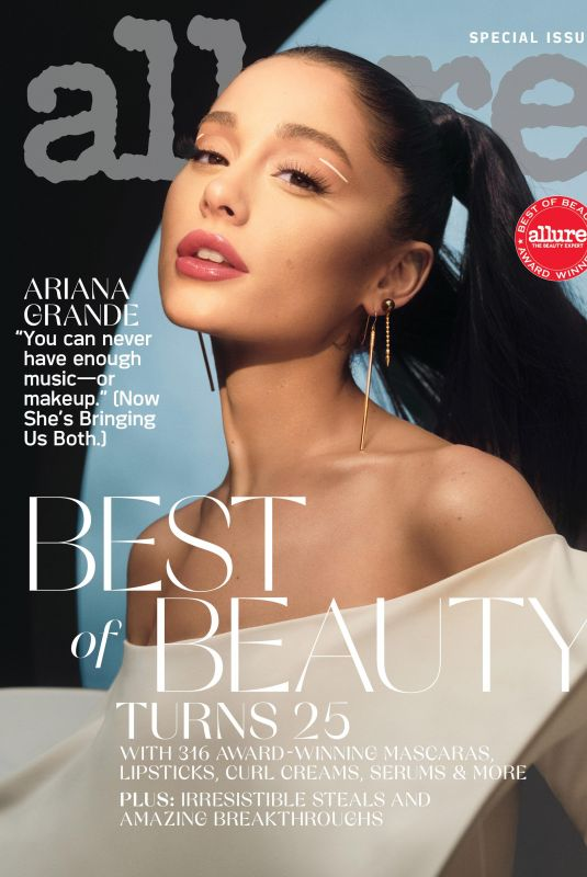 ARIANA GRANDE on the Cover of Allure Magazine, Special Issue October 2021