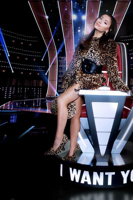 ARIANA GRANDE – The Voice, Season 21 Promos