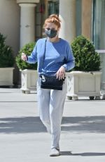 ARIEL WINTER Leaves a Skin Care Clinic in Los Angeles 09/02/2021