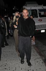 ASHLEE SIMPSON and Evan Ross Arrives at Lil Nas X Album Release PArty at Catch One in Los Angeles 09/18/2021