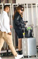 ASHLEY BENSON Arrives at Airport in Miami 09/15/2021