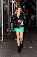 ASHLEY BENSON Night Out in New York 09/17/2021