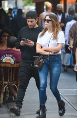 ASHLEY BENSON Out and Abnout in New York 09/21/2021