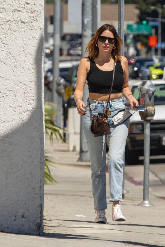 ASHLEY BENSON Out for Lunch in Studio City 09/07/2021