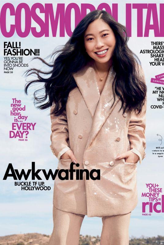 AWKWAFINA in Cosmopolitan Magazine, September 2021