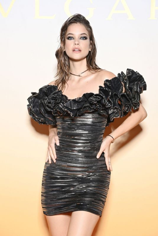 BARBARA PALVIN at Bvlgari SS22 Accessories Collection Event in Milan 09/24/2021