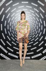 BARBARA PALVIN at Missoni Show at Milan Fashion Week 09/24/2021