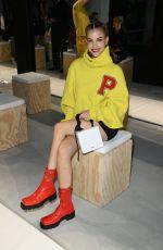 BARBARA PALVIN at Philosophy Di Lorenzo Serafini Fashion Show in Milan 09/25/2021