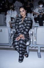 BECKY G at Emporio Armani Show at Milan Fashion Week 09/23/2021