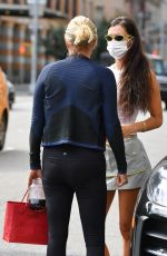 BELLA and YOLANDA HADID Out in New York 09/08/2021