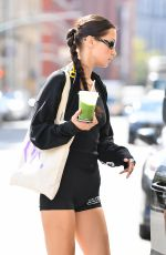 BELLA HADID Leaves a Gym in New York 09/20/2021