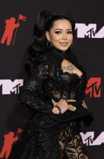 BELLA POARCH at 2021 MTV Video Music Awards in Brooklyn 09/12/2021