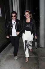 BELLA THORNE and Benjamin Mascolo Out for Dinner at Catch 09/12/2021