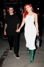 BELLA THORNE Arrives at Premiere of Her Movie Time is Up in Hollywood 09/10/2021
