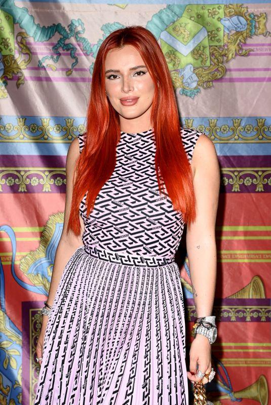 BELLA THORNE at Versace Show at Milan Fashion Week 09/24/2021