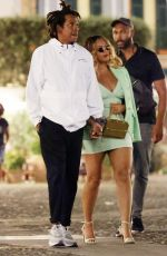 BEYONCE Out in Portofino 09/12/2021