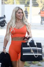 BIANCA GASCOIGNE Arrives at Dancing With The Stars 16 Rehearsals in Rome 09/24/2021