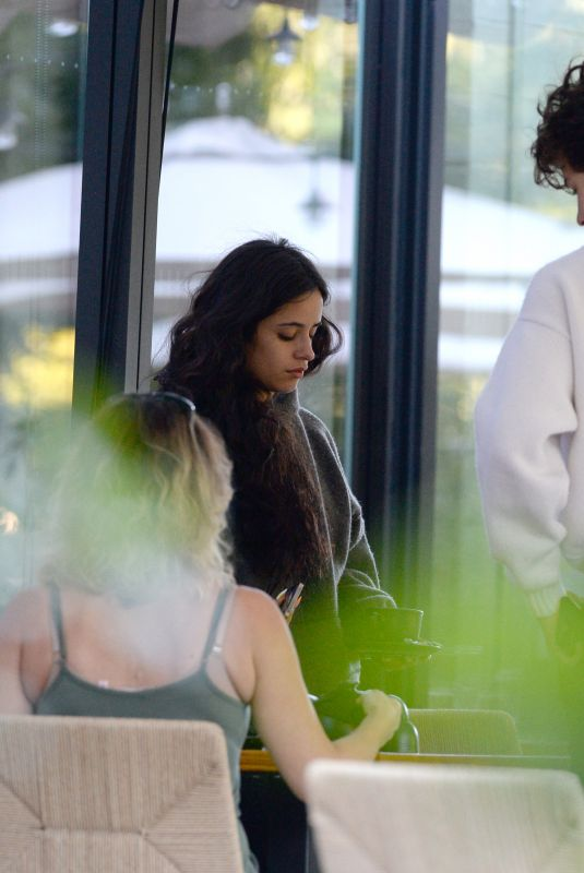 CAMILA CABELLO and Shawn Mendes Out for Lunch in New York 09/26/2021