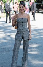 CAMILA COELHO Arrives at Michael Kors Fashion in New York 09/10/2021