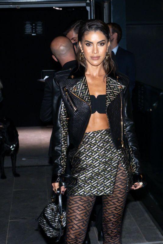 CAMILA COELHO at Versace Fashion Show in Milan 09/24/2021