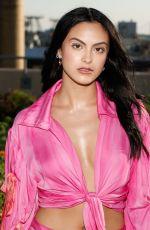 CAMILA MENDES at Collina Strada Fashion Show in New York 09/07/2021