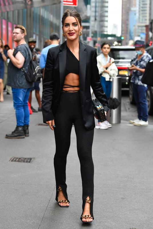 CAMILA QUIEROZ Arrives at Revolve Event at 2021 NYFW in New York 09/09/2021