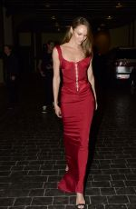 CANDICE SWANEPOEL Leaves Casa Cipriani at New York Fashion Week 09/10/2021
