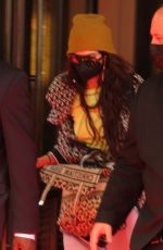 CARA DEKEVINGNE Leaves The Mark Hotel in New York 09/17/2021