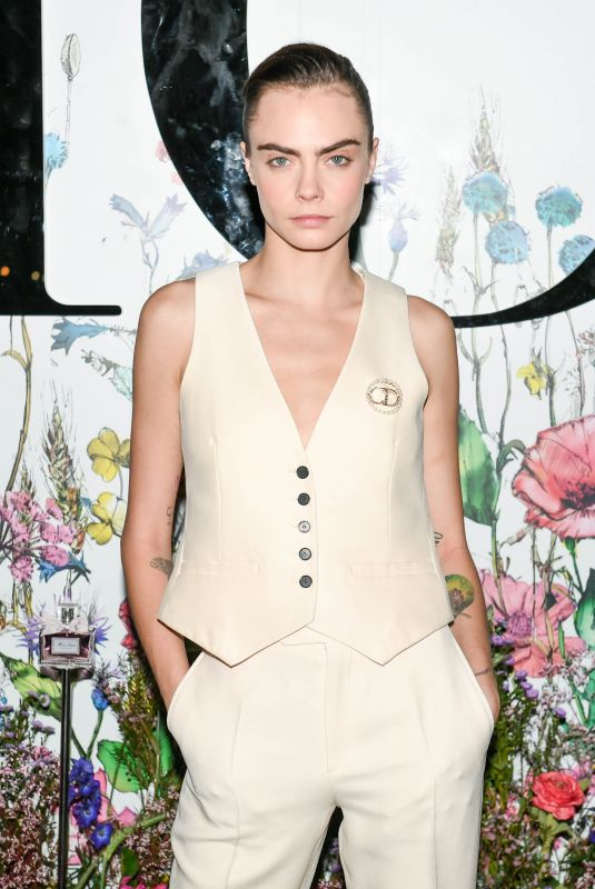 CARA DELEVINGNE at Dior Beauty Celebrates Miss Dior Event in New York 09/12/2021