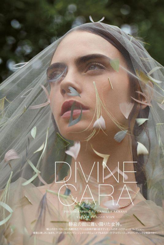 CARA DELEVINGNE in Vogue Magazine, Japan October 2021
