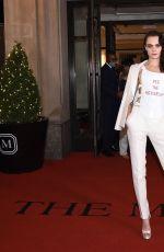 CARA ELEVINGNE Leaves Her Hotel in New York 09/13/2021
