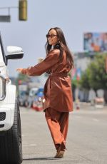 CARA SANTANA Out for Coffee in West Hollywood 09/02/2021