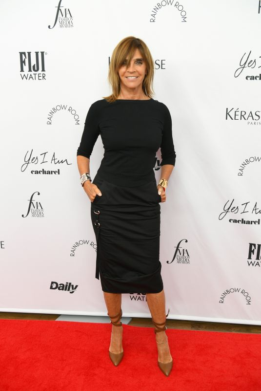 CARINE RESTOIN-ROITFELD at Daily Front Row 8th Annual Fashion Media Awards in New York 09/09/2021