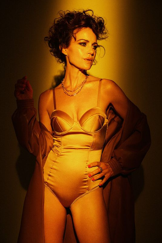 CARLA GUGINO for A Book Of Magazine, August 2021