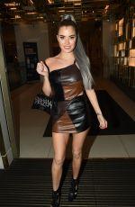 CARLA HOWE Leaves Hard Rock Hotel in London 09/12/2021