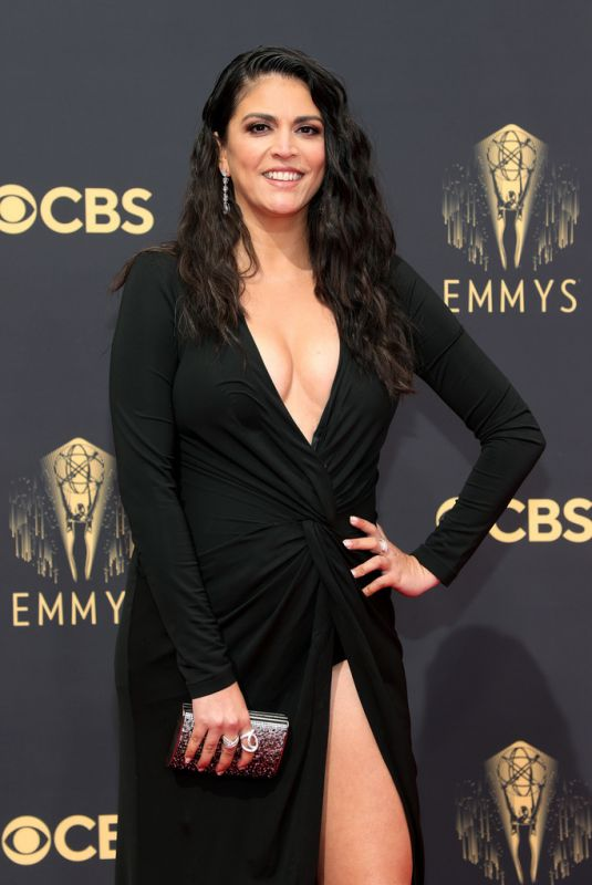 CECILY STRONG at 73rd Primetime Emmy Awards in Los Angeles 09/19/2021