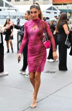 CHANTEL JEFFRIES Arrives at Revolve Event at NYFW 2021 in New York 09/09/2021