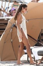 CHANTEL JEFFRIES in Bikini on Labor Day Weekend in Miami 09/05/2021