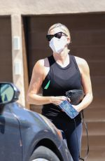 CHARLIZE THERON Heading to a Salon in West Hollywood 09/13/2021