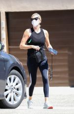 CHARLIZE THERON Out and About in West Hollywood 09/13/2021