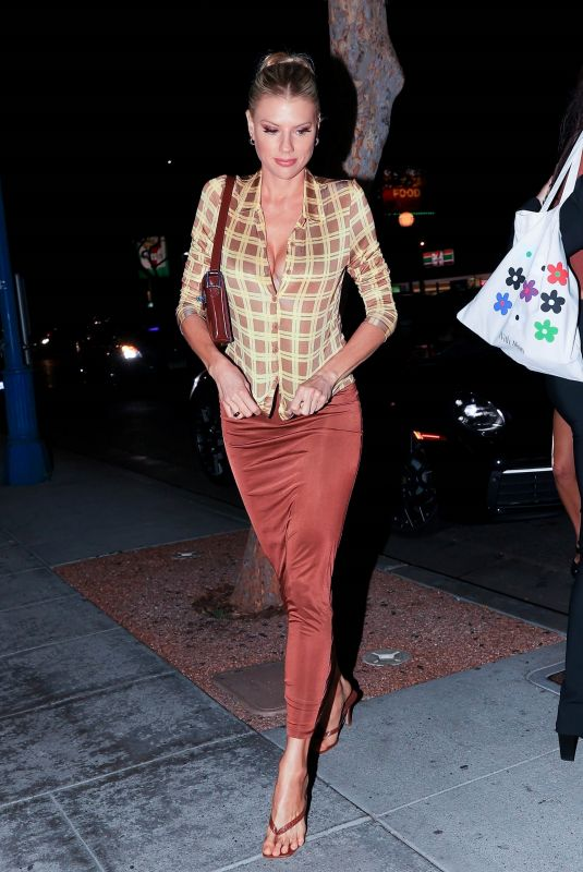CHARLOTTE MCKINNEY at Delilah in West Hollywood 09/16/2021