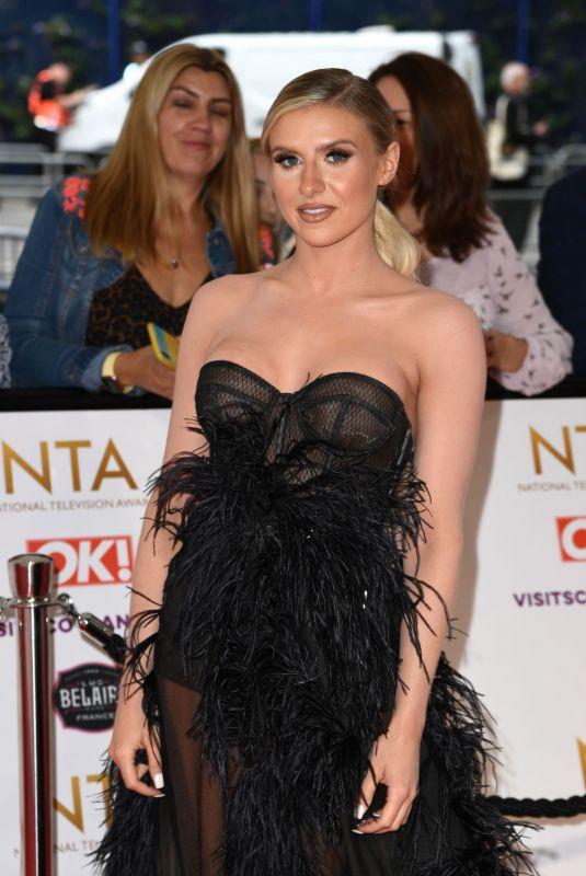 CHLOE BURROWS at National Television Awards 2021 at O2 Arena in London 09/09/2021
