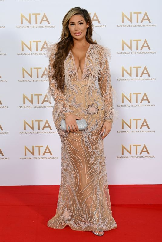 CHLOE FERRY at 26th National Television Awards in London 09/09/2021