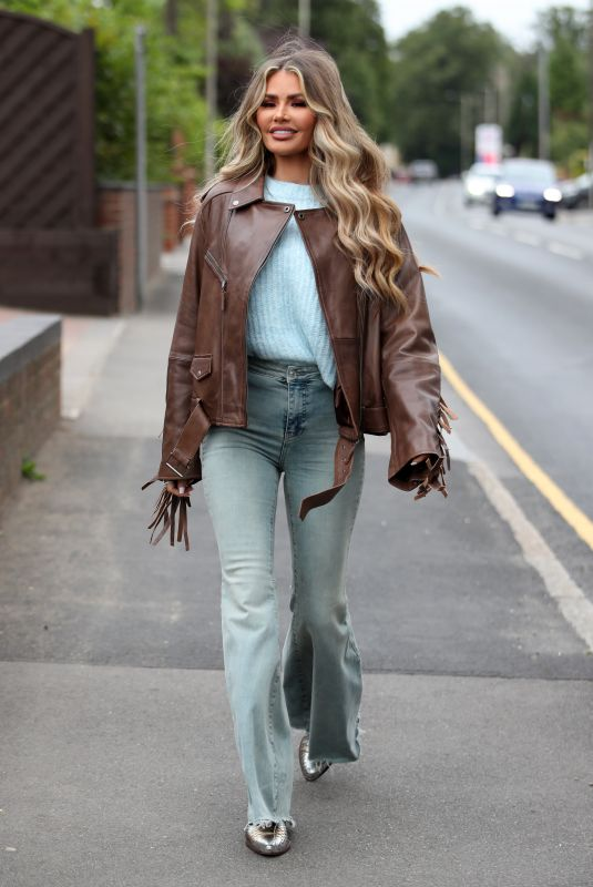 CHLOE SIMS on the Set of The Only Way is Essex 08/31/2021