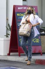 CHRISSY TEIGEN Out Shopping in Los Angeles 09/22/2021