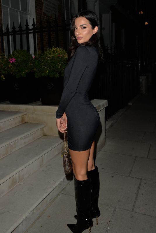CHRISTINA CARMELA at MKNY House in London 09/25/2021